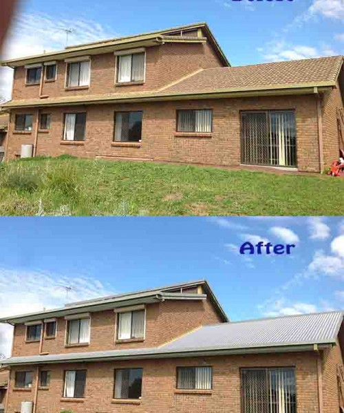 Image Retouch And Create Roof