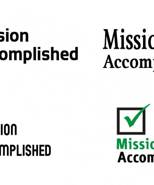 Logo For Mission Accomplished