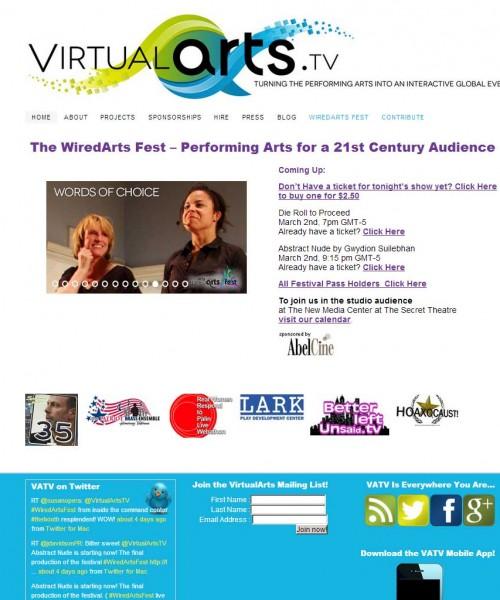 Virtualarts.tv Web-site